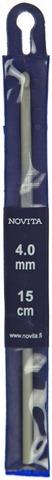 Novita virkkuukoukku 4,0mm 15cm
