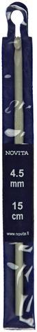 Novita virkkuukoukku 4,5mm 15cm