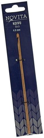 Novita Koivu virkkuukoukku 15cm 4,0mm