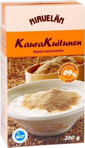 Hirvelän Kaurakuitunen 350G Kypsä Kaurarouhe