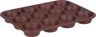 House muffinsivuoka silikoninen 12 muffinsille