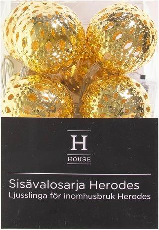 House Herodes Sisävalosarja, Kullanvärinen
