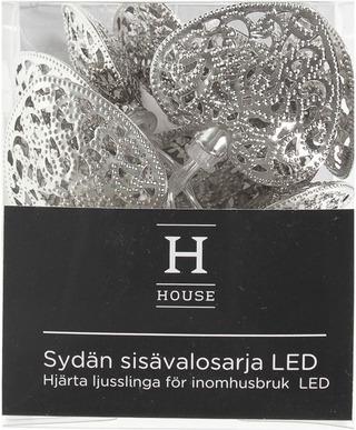 House Sydän Sisävalosarja, 10 Led-Lamppua