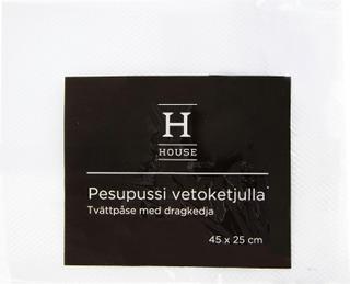 House Pesupussi Vetoketjulla 45X25cm