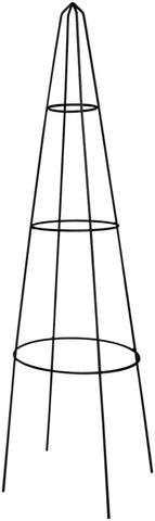 House obeliski 90cm teräs musta