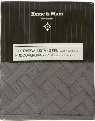 Home&Main Tyynynpäällinen Basket 2Kpl 50X50cm