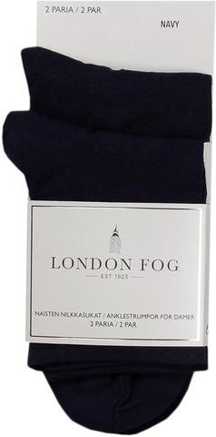 London Fog Naisten Nilkkasukat 2-Pack