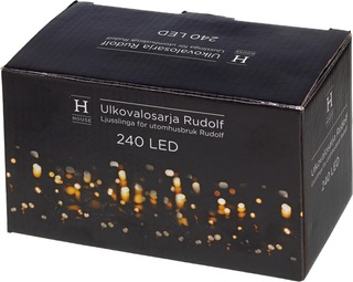 House Rudolf Ulkovalosarja 240 Led Ip44