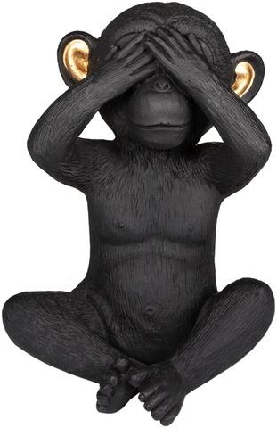 Pöytäkoriste apina älä näe