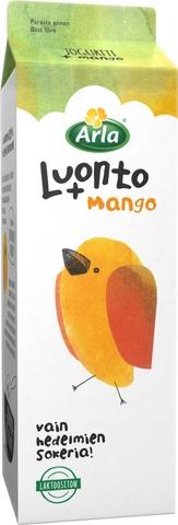 Arla 1 Kg Luonto + Ab  Mango Laktoositon Jogurtti