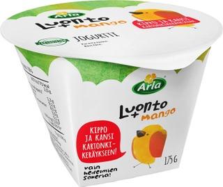 Arla Luonto+ Ab Laktoositon 175 G Mangojogurtti
