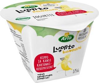 Arla Luonto+ Ab Laktoositon Banaani Jogurtti 175G