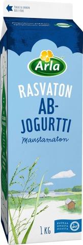 Arla Laktoositon Rasvaton Maustamaton Ab Jogurtti 1Kg