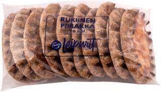 Fazer Leipurit Rukiinen Riisipiirakka 10 Kpl