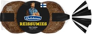 Oululainen Reissumies 560g 8kpl Tosi Tumma täysjyväruisleipä