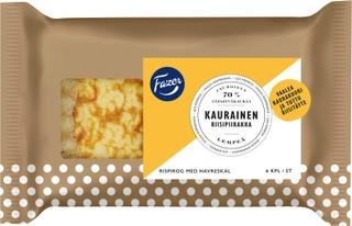 Fazer Kaurainen Riisipiirakka 6Kpl 420G
