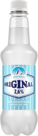Hartwall Original Long Drink 2,6% 0,43 L