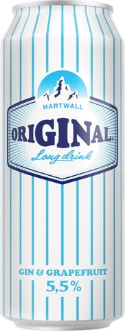 Hartwall Original Long Drink WL Grapefruit 5,5% 0,5 l
