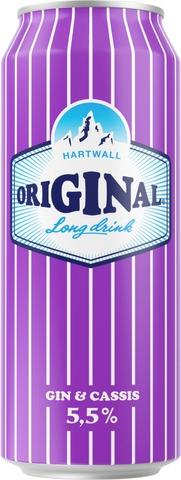 Hartwall Original Long Drink Cassis  5,5% 0,5 l