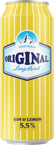 Hartwall Original Long Drink Gin & Lemon 5,5% 0,5 l