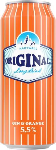 Hartwall Original Long Drink Orange 5,5% 0,5 l