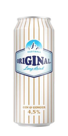 Hartwall Original Long Drink WL Ginger 4,5% 0,5 l