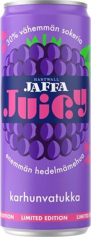 Hartwall Jaffa Juicy Karhunvatukka virvoitusjuoma 0,33 l