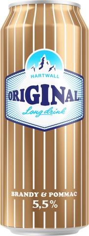 Hartwall Original Long Drink Brandy 5,5% 0,5 l