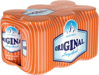 6 x Hartwall Original Long Drink Orange 5,5% 0,33 l