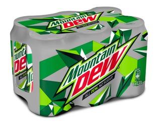 6 x Mountain Dew No Sugar virvoitusjuoma 0,33 l