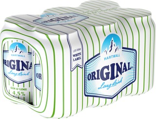 6 x Hartwall Original Long Drink WL Lime 4,5% 0,33 l