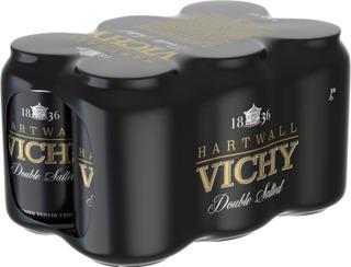 6 x Hartwall Vichy Original Double Salted kivennäisvesi 0,33 l