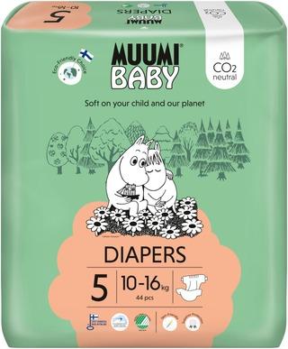Muumi Baby Diapers Teippivaippa 5 - 44 Kpl 10-16 Kg