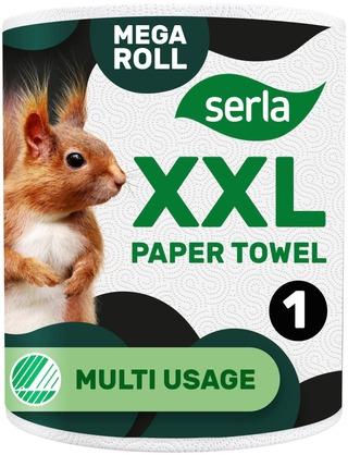 Serla Talous Giant Xxl 1 Rl Valkoinen, Arkkikoko 230X230mm, 355 Arkkia/Rulla
