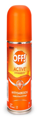 Off! 100 Ml Active Hyttysaerosoli