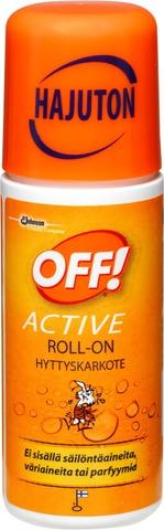 Off! Active Roll-On 60Ml Hyttyskarkote