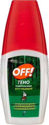 Off! 100Ml Teho Pumppusuihke Hyönteiskarkote