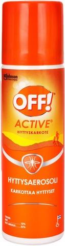 Off! 65 Ml Hyttysaerosoli Hyttyskarkote