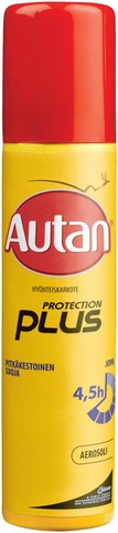 Autan Protection Plus 100Ml Aerosoli Karkote