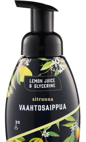 Lemon Juice & Glycerine 250Ml Sitruuna Vaahtosaippua