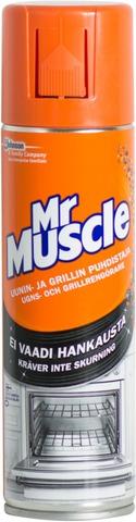 Mr Muscle 250 Ml Uunin- Ja Grillinpuhdistaja