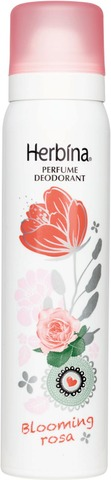 Herbina 100 ml Blooming Rosa parfyymideodorantti