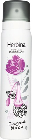 Herbina 100ml ElegantBlack parfyymideodorantti