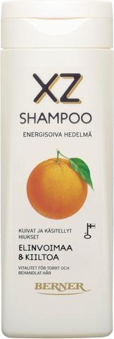 Xz 250Ml Energisoiva Hedelmä Shampoo, Käsitellyt Hiukset