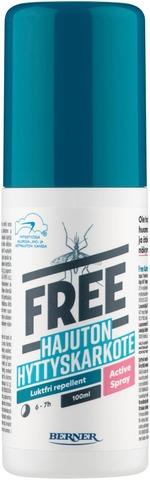Free 100Ml  Active Spray Punkkikarkote