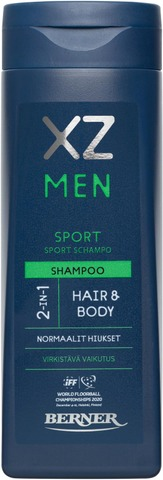 Xz 250Ml Men 2-In-1 Sport Shampoo