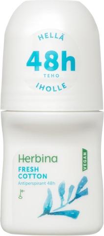 Herbina Fresh cotton antiperspirant 48h 50ml