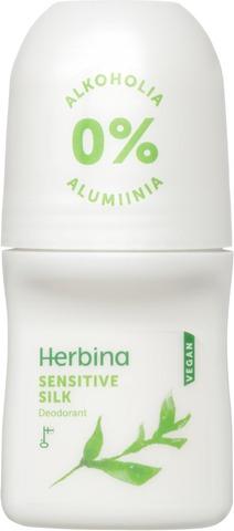 Herbina Sensitive silk deodorant 50ml