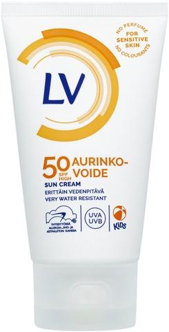 Lv 75Ml Spf50 Aurinkovoide, Erittäin Vedenkestävä