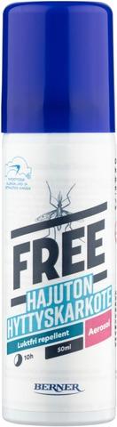 Free 50Ml Hyttyskarkote Aerosoli Spray